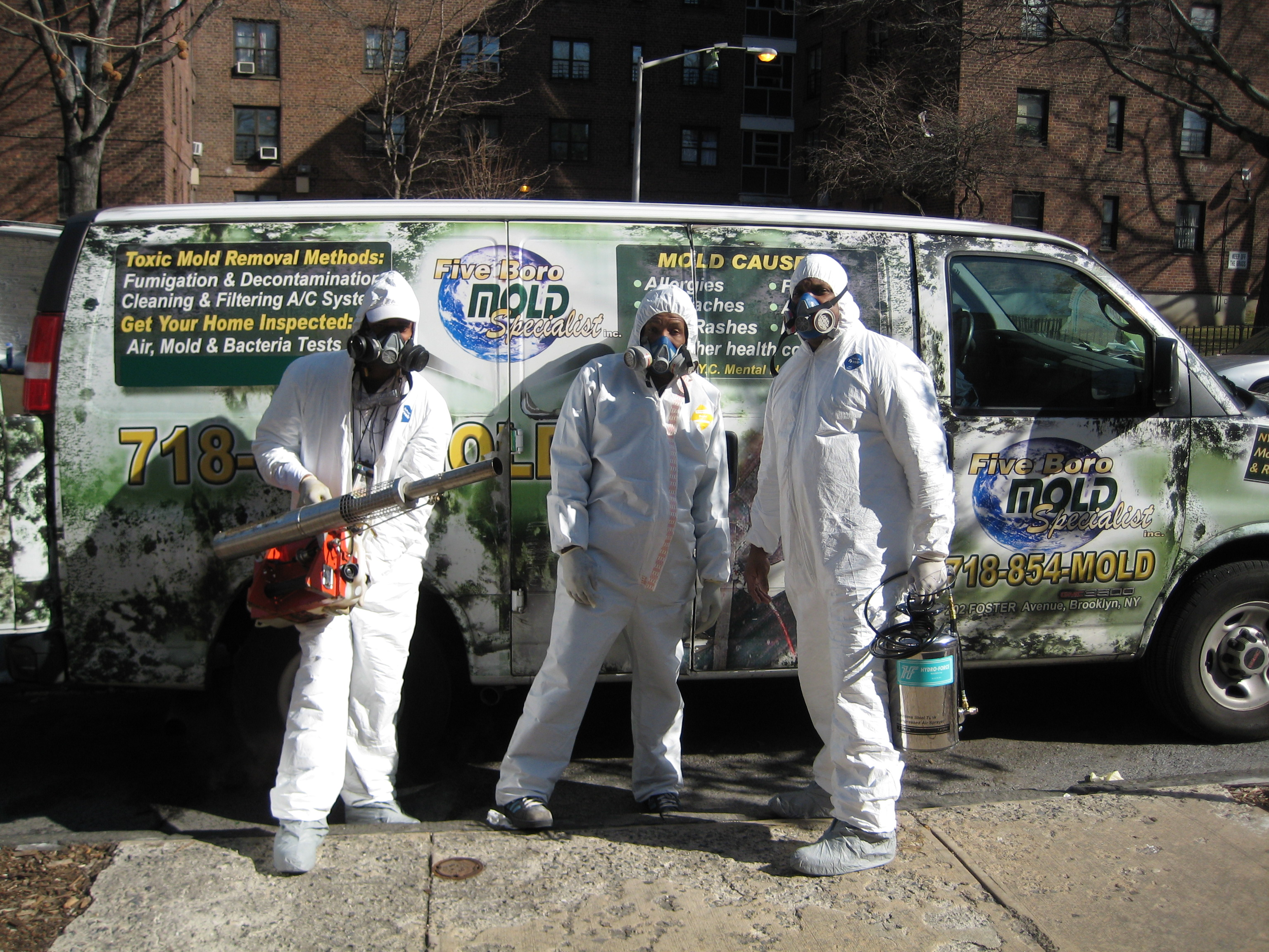 Certified Mold Removal Manhattan