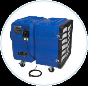 negative air pressure units